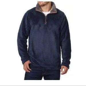 Trinity Men's Plush 1/4 Zip Pullover